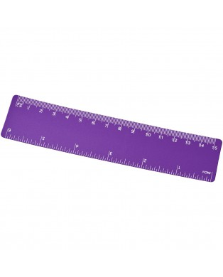 Régua de plástico de 15 cm...