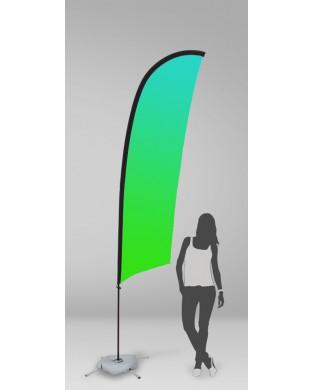 Pack Bandeira Vela 340cm